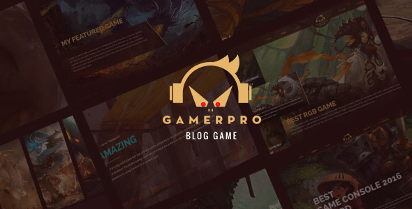 gamepro wordpress theme