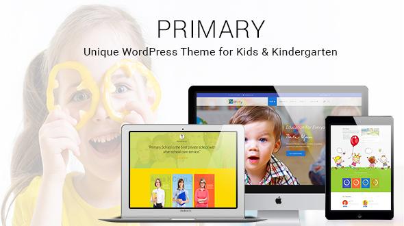 プライマリ-子供と学校のWordPressテーマ| 教材デザインWP