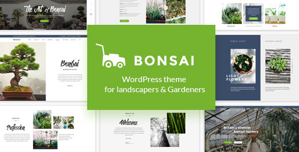 Bonsai - WP Theme for Landscapers & Gardeners - 6